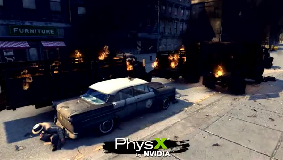 2K Games, Mafia, PhysX, Mafia 2
