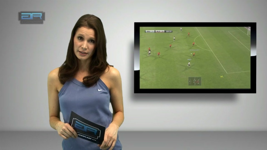 Gamereport, Newsflash, Ana Elena Heydock, Ana