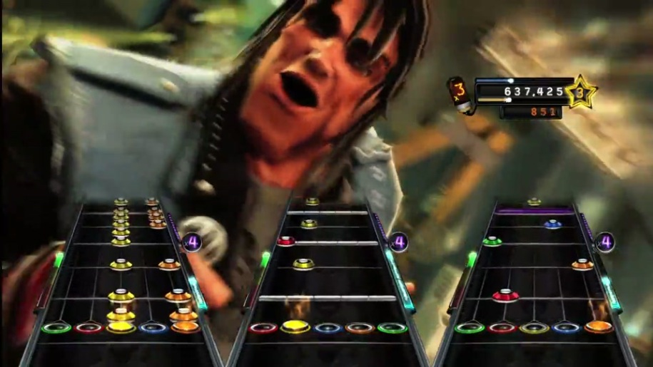 Trailer, Guitar Hero, Warriors of Rock