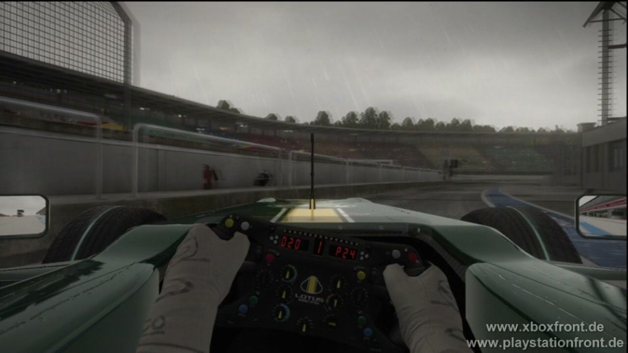 Gameplay, Codemasters, Formel 1, F1 2010, Fanatec Wheel