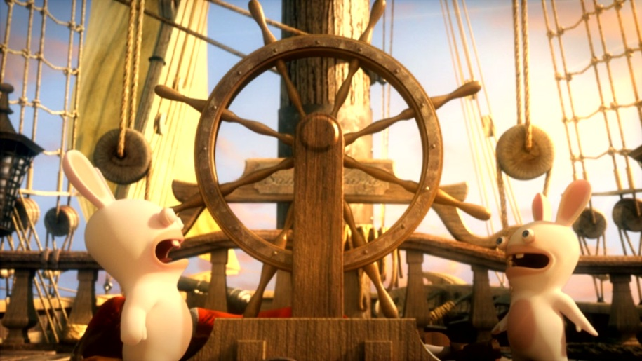 Trailer, Raving Rabbids, Travel in Time, Christopher Columbus