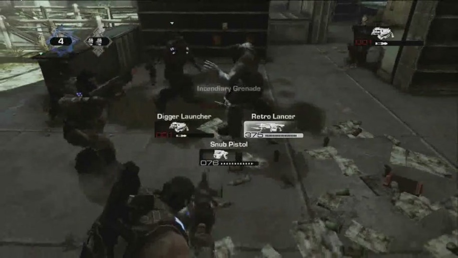 Gameplay, Multiplayer, Gears of War 3