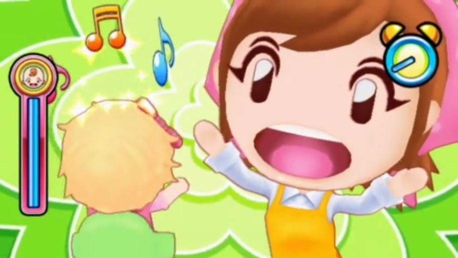 Trailer, Cooking Mama World, Babysitting Mama