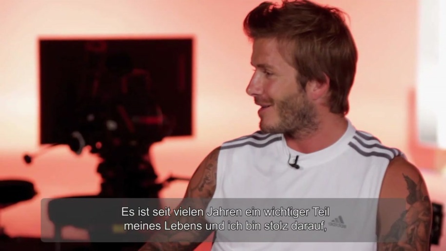 Interview, EA SPORTS Active 2, EA Sports Active, David Beckham