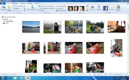 Fotos, Windows Live, Windows Live Essentials, Fotogalerie, Windows Live Fotogalerie
