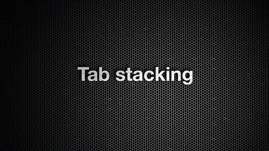 Browser, Opera, Opera 11, Tab Stacking