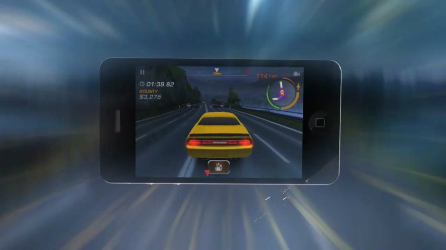 Trailer, Apple, Iphone, Electronic Arts, Ipad, Rennspiel, Need for Speed, Hot Pursuit, Criterion Games