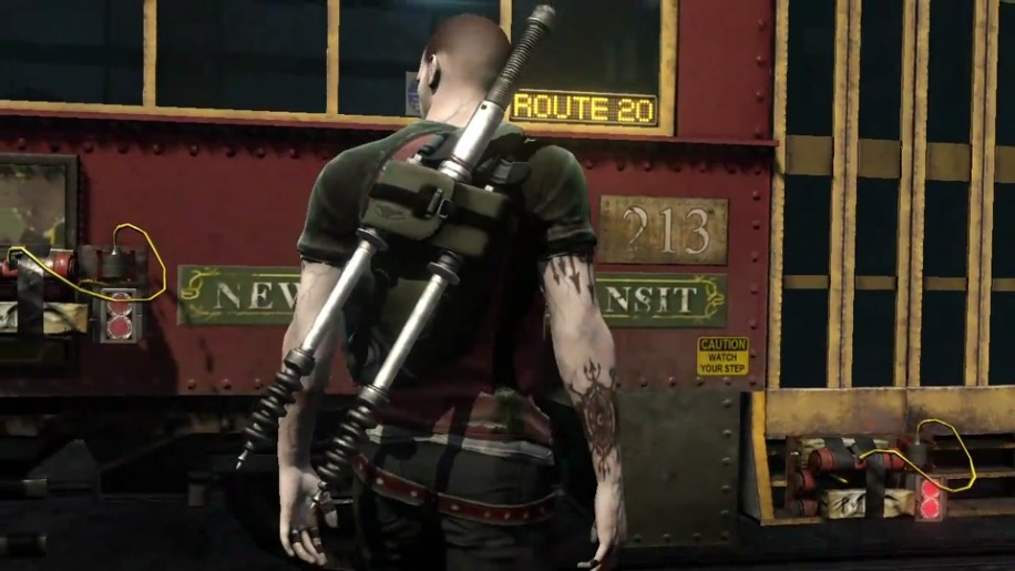 Gameplay, Infamous 2