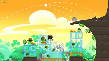 Update, Angry Birds, Rovio, Angry Birds Seasons, St. Patricks Day, Seasons