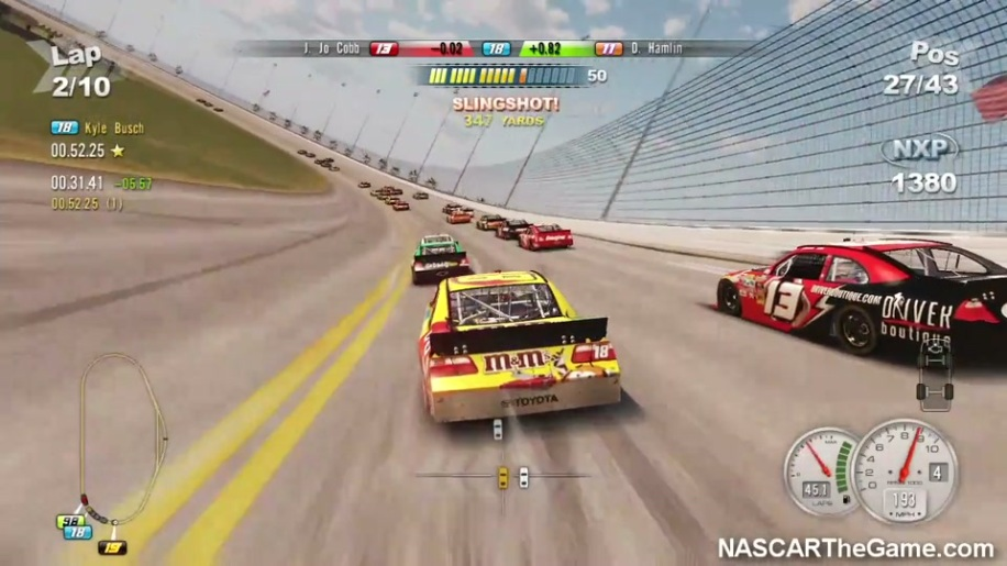 Gameplay, NASCAR 2011 The Game