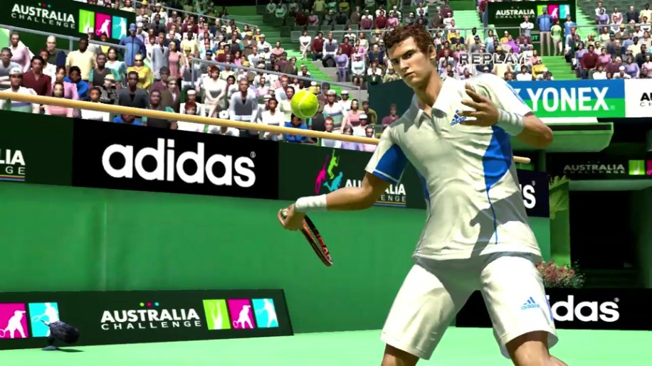 Trailer, Virtua Tennis 4