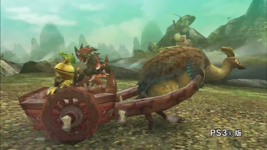 Trailer, Monster Hunter Portable HD