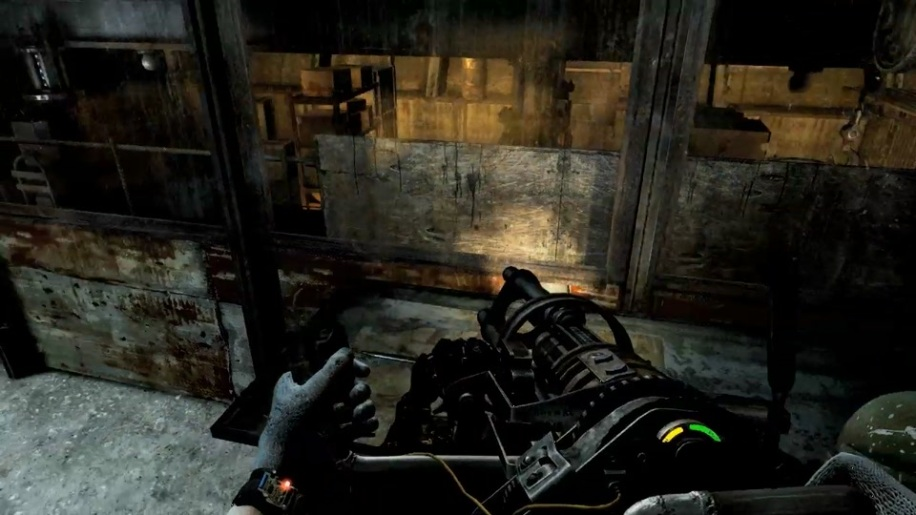 Gameplay, Last Light, Metro 2033