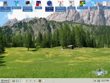 ReactOS Ersatz Windows Betriebssystem OS Explorer Alpha Open Source Linux Mac