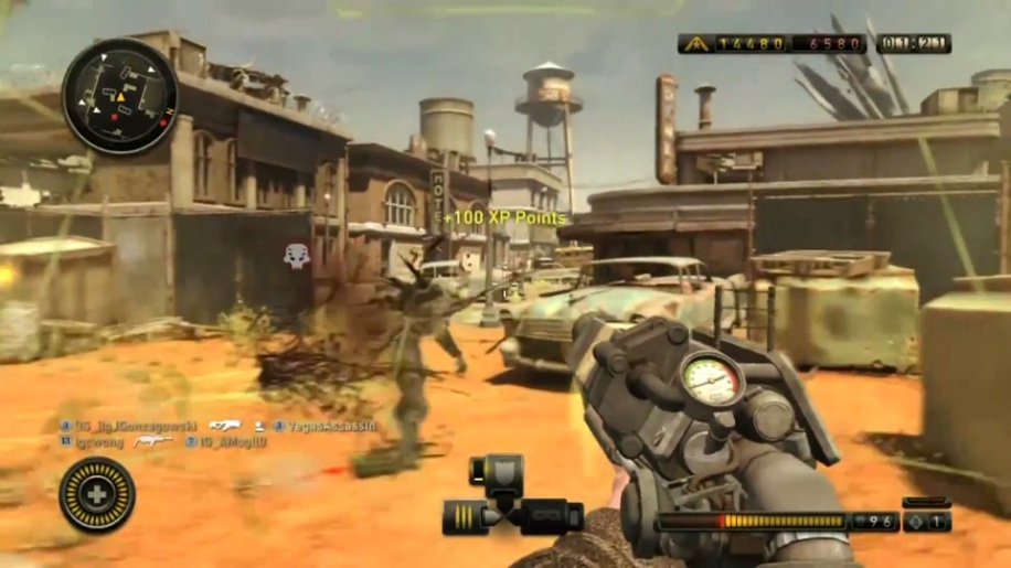 Gameplay, Resistance 3