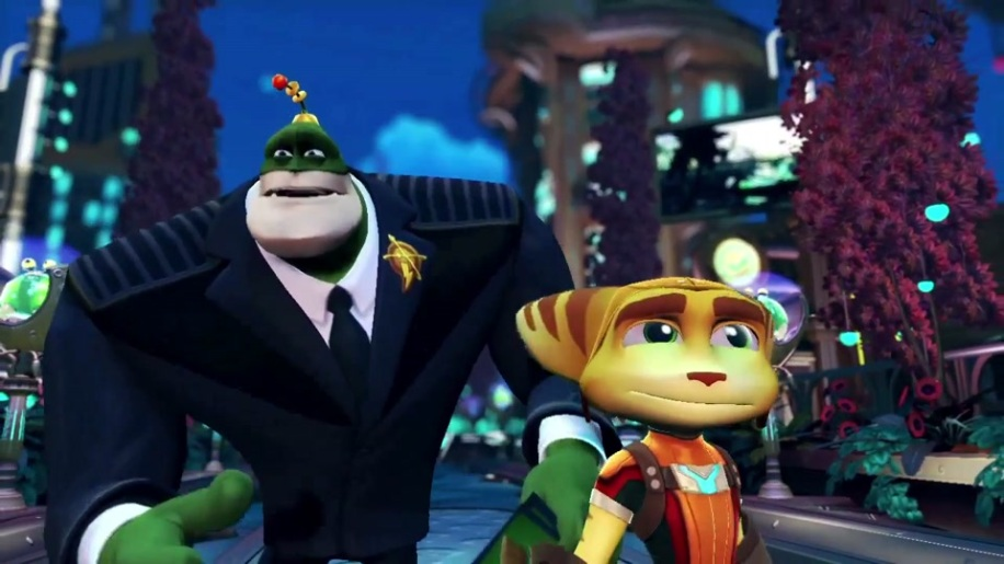 Trailer, Gamescom, Gamescom 2011, Ratchet and Clank, All 4 One