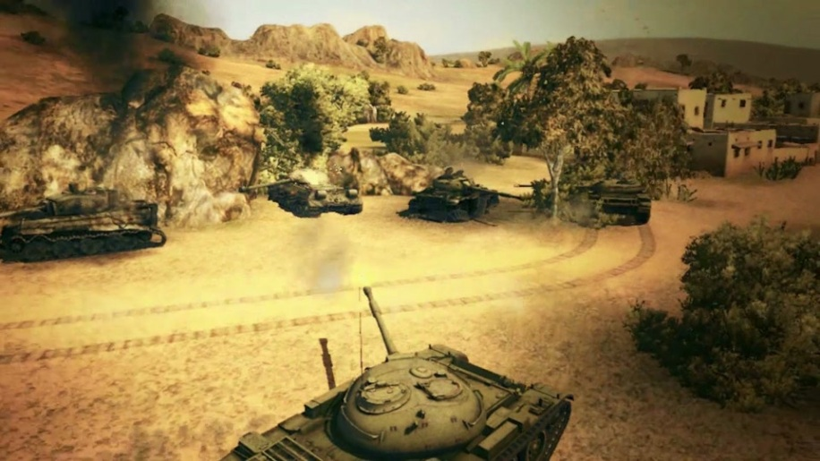 Trailer, Gamescom, Gamescom 2011, World of Tanks