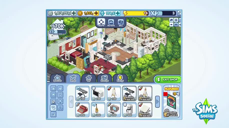 Facebook, Die Sims, Sims, Social Games, The Sims Social