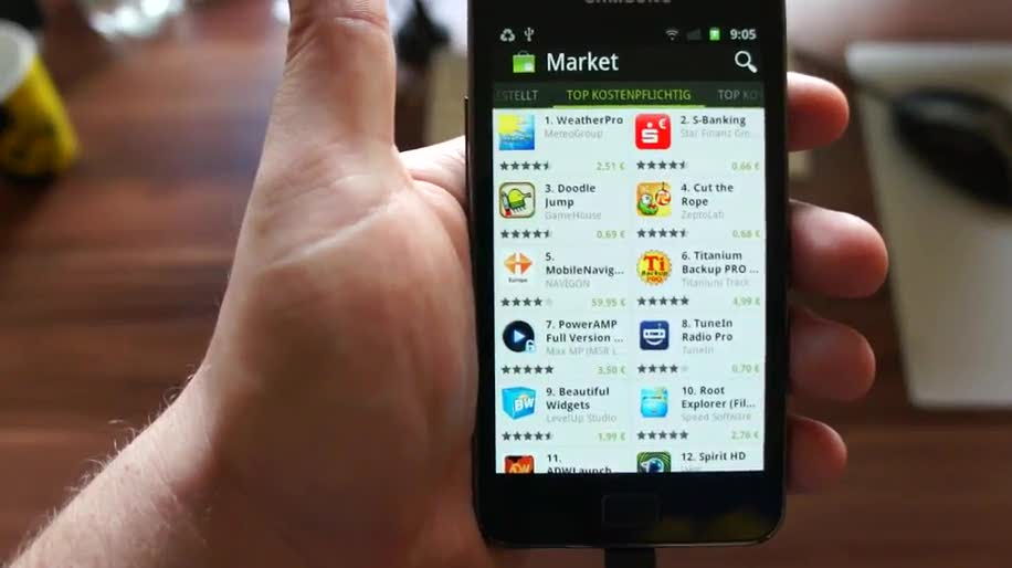 Google, Android, Version, Market