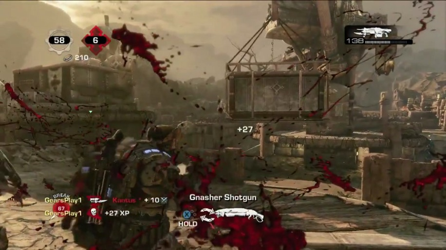 Gameplay, Gears of War 3