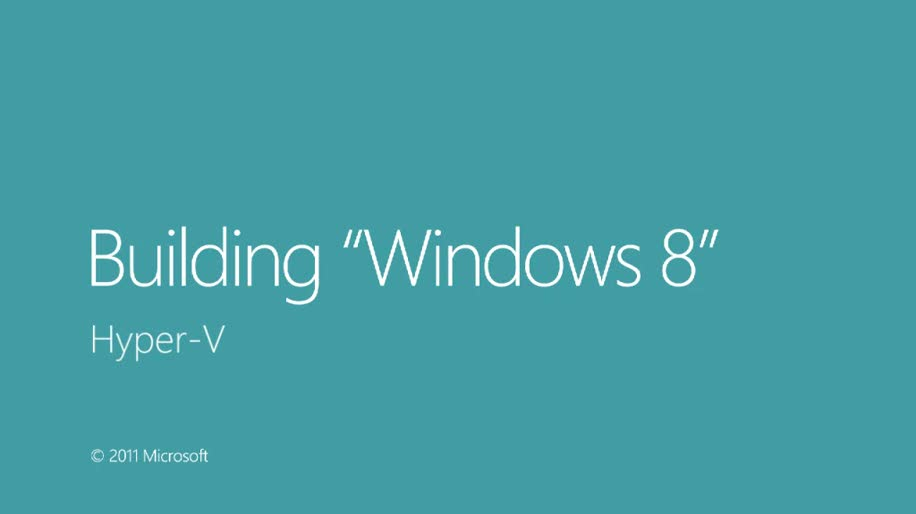 Windows 8, Virtualisierung, Virtual Machine, Hyper-V, Hypervisor