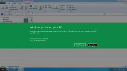 Microsoft, Betriebssystem, Windows 8, Sicherheit, Malware, Security, Antivirus, Virus, Internet Explorer 10, Boot, Windows Defender, Uefi, Smartscreen, Defender, Secured Boot
