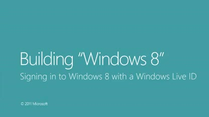 Microsoft, Betriebssystem, Windows 8, Windows Live, Live ID