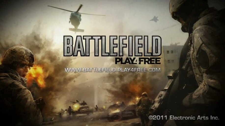 Trailer, Battlefield Play4Free