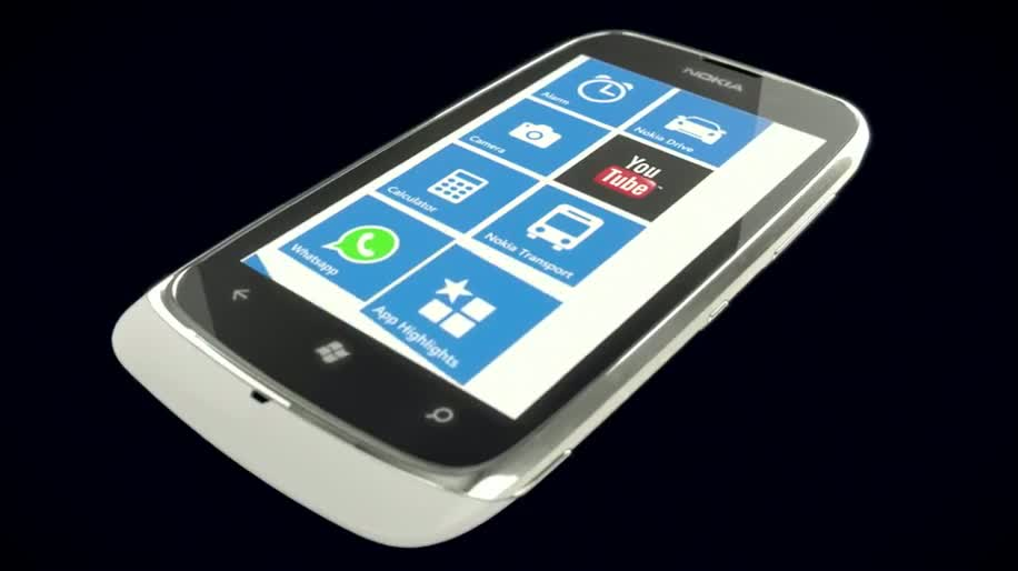 Microsoft, Smartphone, Windows Phone, Nokia, Lumia, MWC 2012, Nokia Lumia 610, Mobile World Congress 2012, Lumia 610