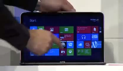 Microsoft, Betriebssystem, Tablet, Windows, Windows 8, Touchscreen, Mwc, Windows 8 Consumer Preview, Keynote, MWC 2012, Mobile World Congress 2012, Barcelona