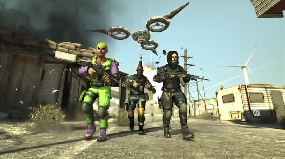 Trailer, E3, E3 2012, Sony Online Entertainment, Hedone, Bullet Run, Acony