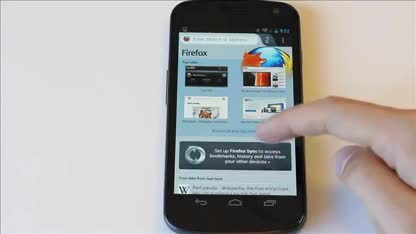 Browser, Firefox, Mozilla, Android 4.0, Firefox Mobile