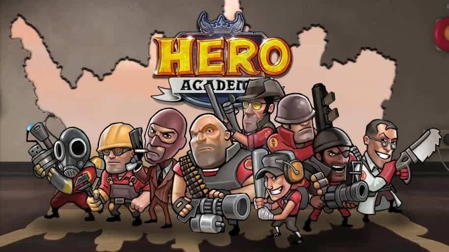 Trailer, Steam, Valve, Team Fortress, Hero Academy