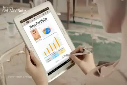 Samsung, Werbespot, Galaxy Note, Samsung Galaxy Note, Samsung Galaxy Note 10.1