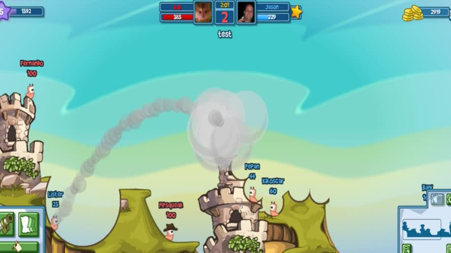 Trailer, Team 17, Worms, Worms Facebook