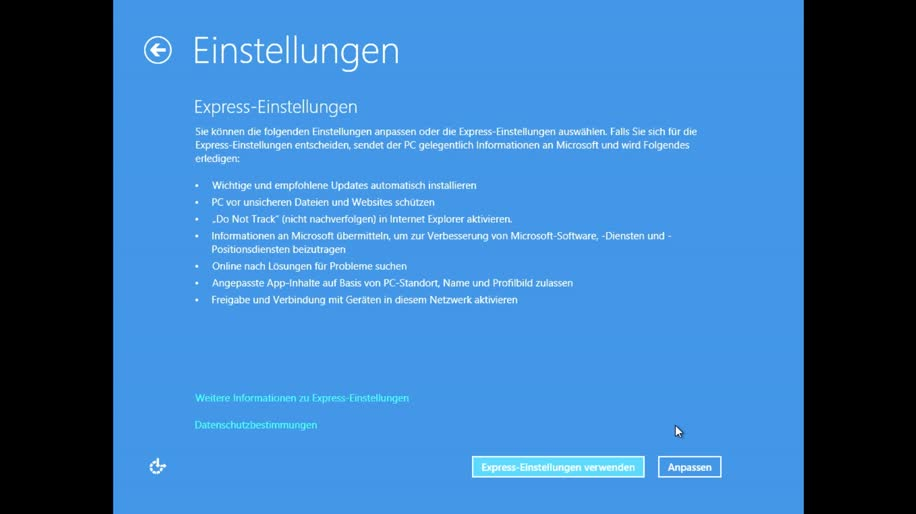 Microsoft, Betriebssystem, Windows 8, Rtm, Demo, Installation, Final, Windows 8 Rundgang, Setup, Rundgang