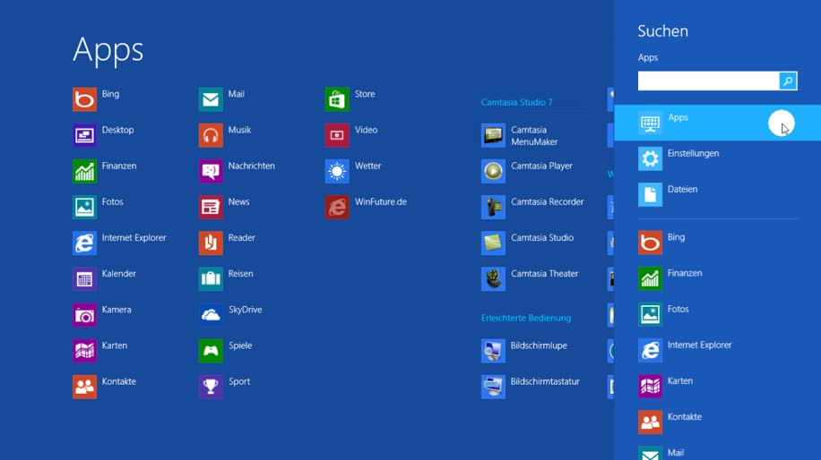 Betriebssystem, Windows 8, Metro, Metro UI, Startmenü, Rtm, Demo, Final, modern ui, Windows 8 Rundgang, Charmbar