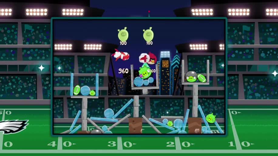 Trailer, Angry Birds, Rovio, Football, Philadelphia Eagles