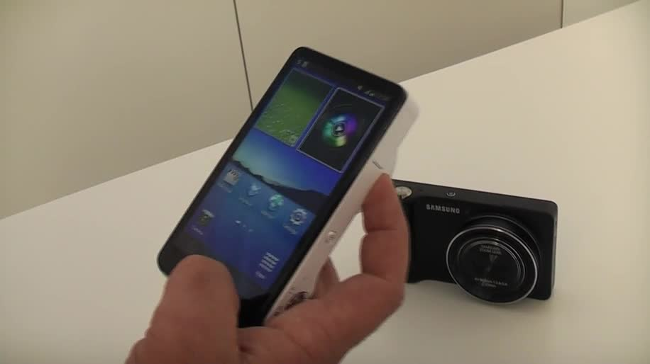 Smartphone, Samsung, Kamera, Galaxy, Jelly Bean, Android 4.1, Ifa, Quad Core, Hands-On, Ifa 2012, Digitalkamera, Digicam, Samsung Galaxy Camera, Camera