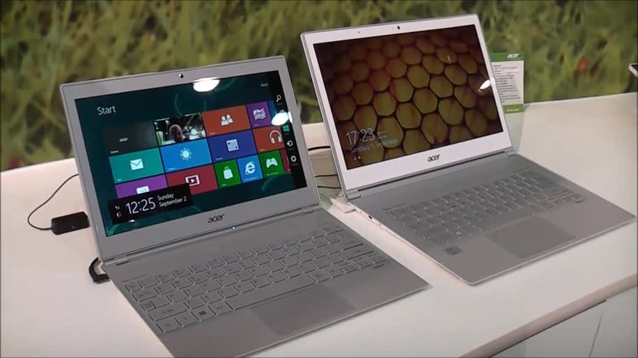 Windows 8, Notebook, Acer, Ifa, Hands-On, Touchscreen, Ultrabook, Full Hd, Ifa 2012, 11.6 Zoll, 13.3 Zoll, S7, Aspire S7