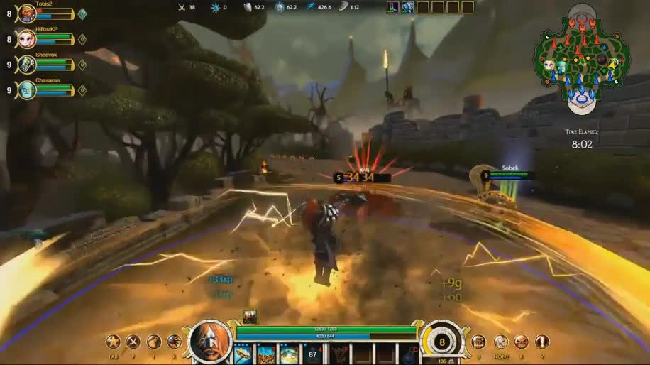 Gameplay, Free-to-Play, Smite, Hi-Rez Studios