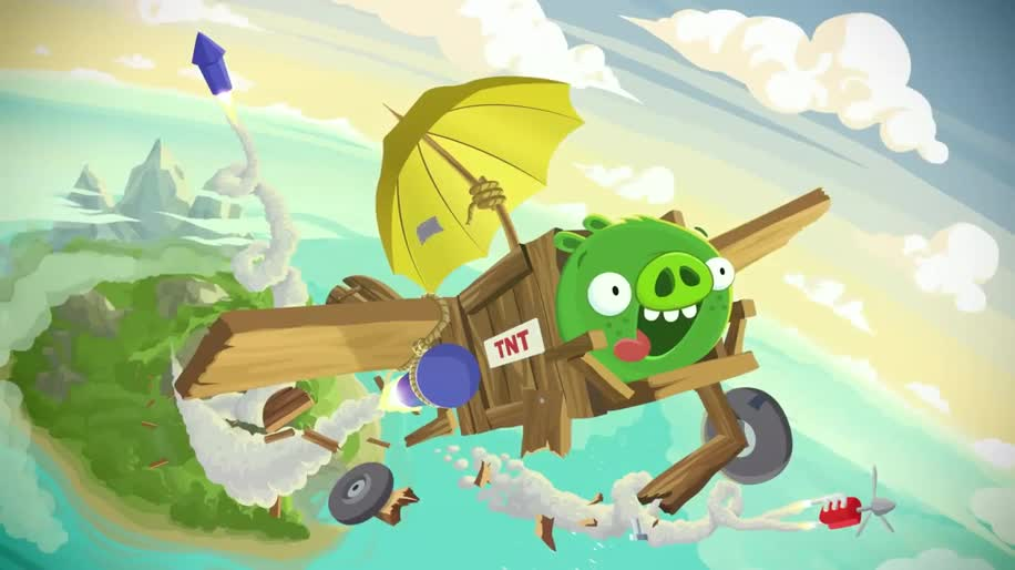 Trailer, Angry Birds, Rovio, Bad Piggies