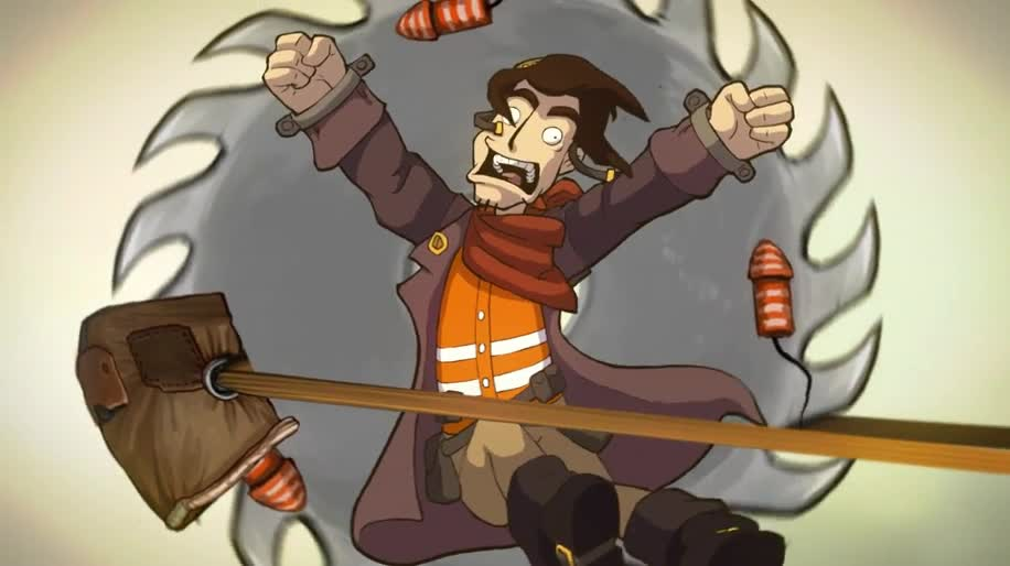 Trailer, Deponia, Daedalic Entertainment, Chaos auf Deponia