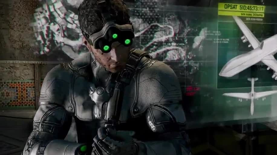 Trailer, Ubisoft, Splinter Cell, Sam Fisher, Blacklist