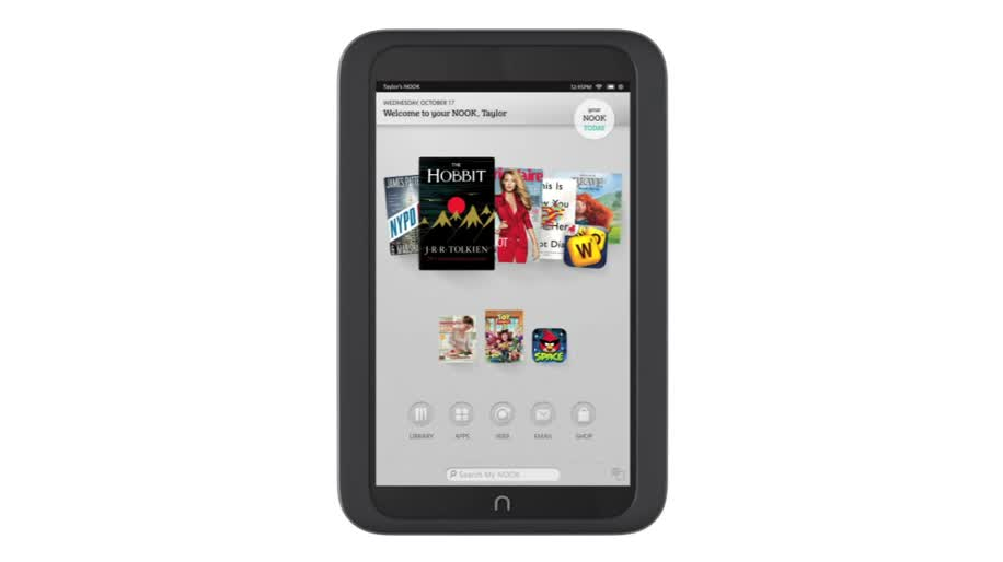 Tablet-PC, Barnes & Noble, Nook, Nook HD