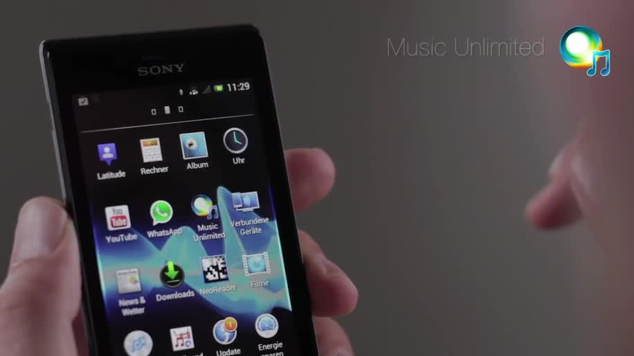 Smartphone, Android, Sony, Android 4.0, Ice Cream Sandwich, Xperia, Xperia J