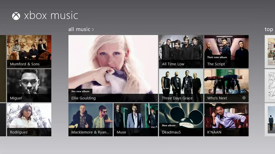 Microsoft, Windows 8, Xbox 360, Windows Phone 8, Musik, Streaming, Stream, xbox music