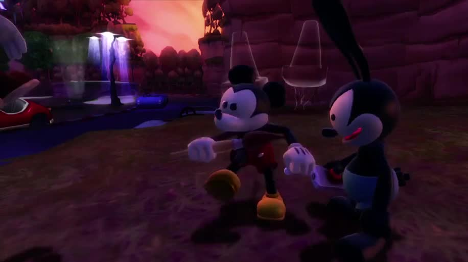 Disney, Epic Mickey, Mickey, Disney Micky Epic, The Power of Two, Disney Micky Epic 2