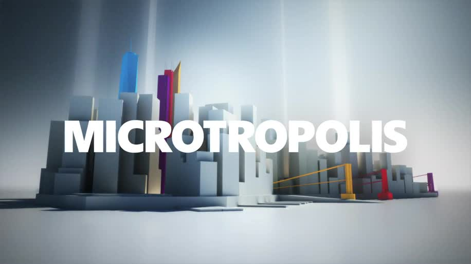 Microsoft, Windows 8, New York, Manhattan, Microtropolis
