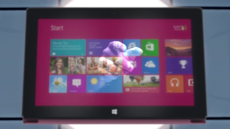 Microsoft, Windows, Tablet, Windows 8, Surface, Windows RT, Touchscreen, Metro, Touch, Metro UI